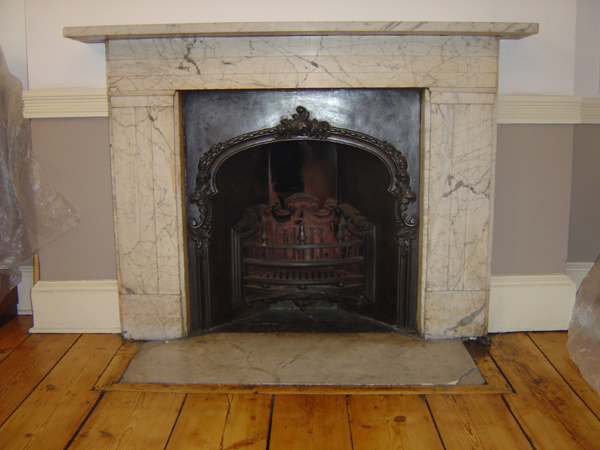 Regency Carrara marble surround