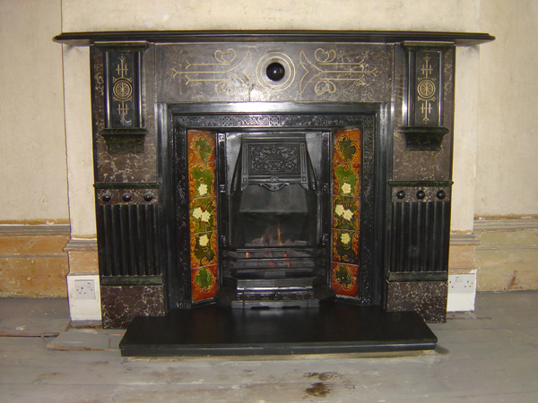 Edwardian restored fireplace