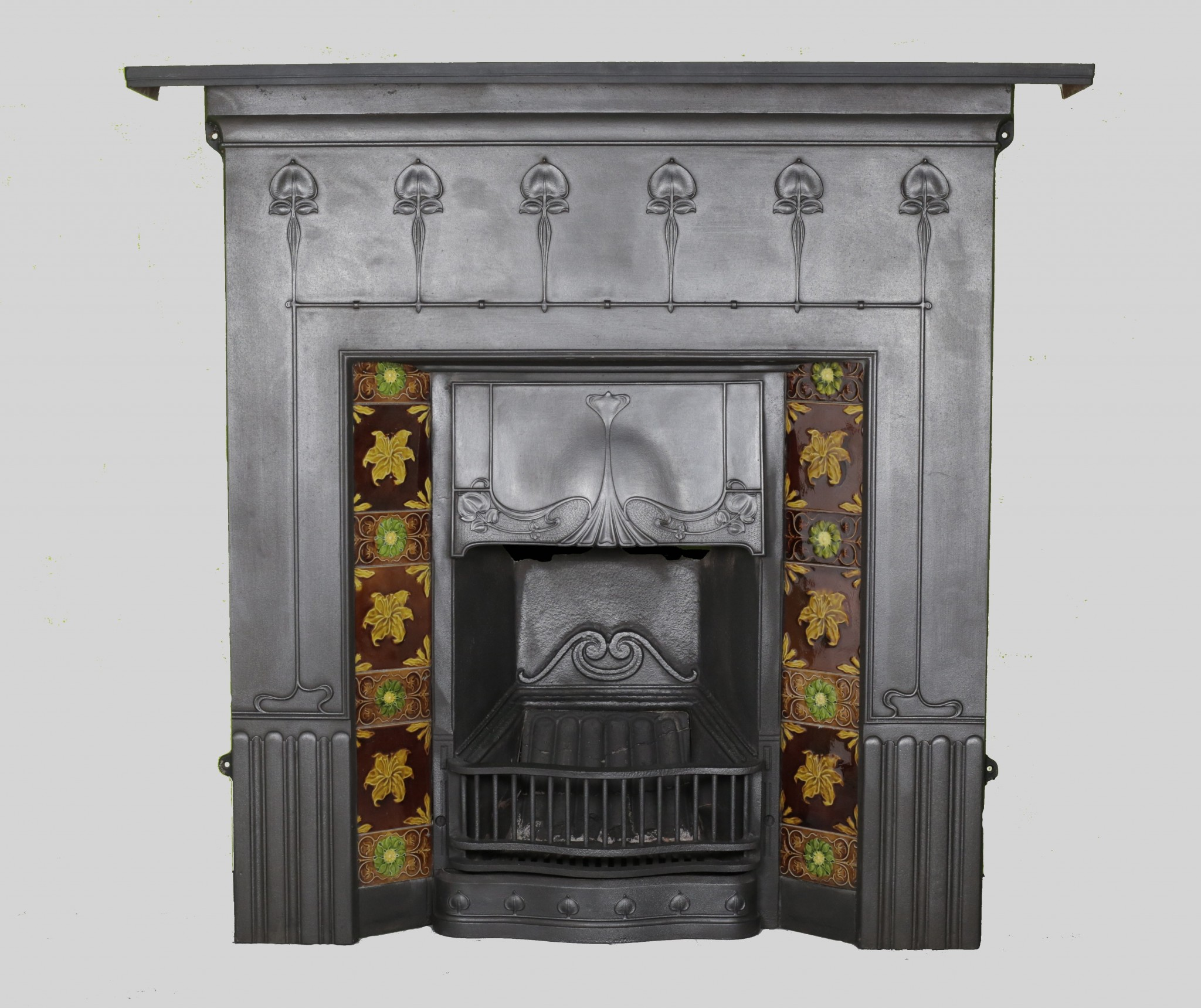 restoration artistic onyx tiles fireplace new installation mantel marble mantels restored antique