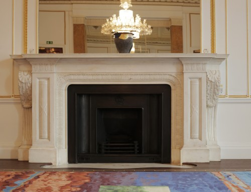 Canada House Fireplace Restoration