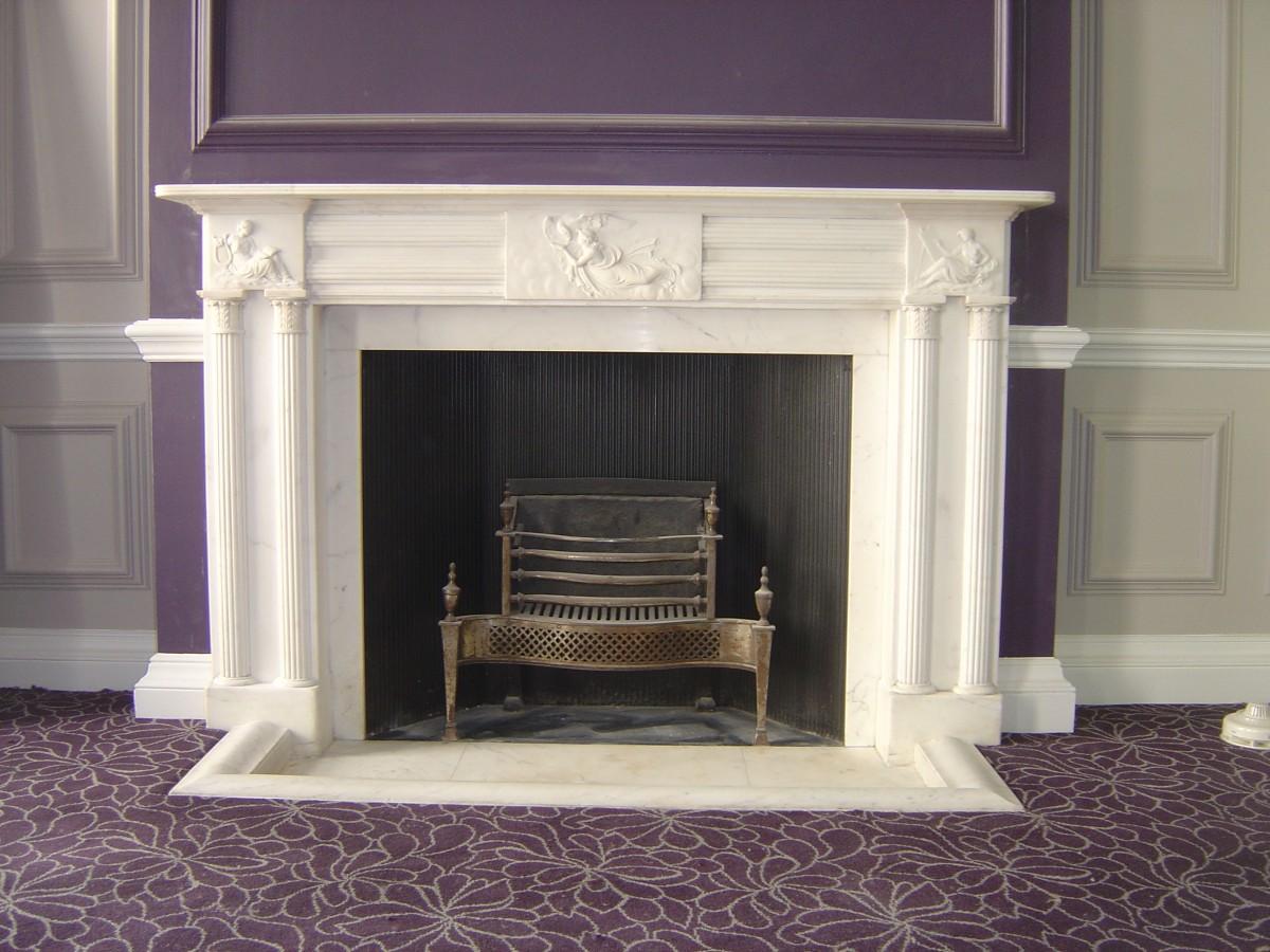 Fireplace-Restoration Roux Restaurant Parliament Square