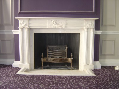 Fireplace-Restoration Roux Restaurant Parliament Square