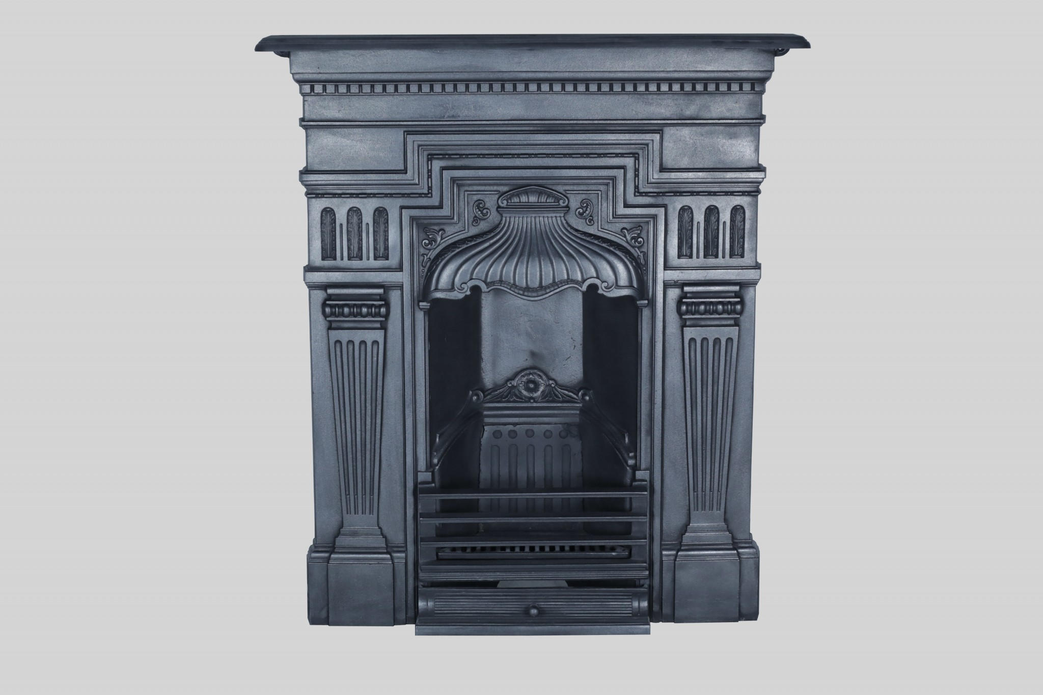 Victorian cast iron bedroom fireplace fireplace restoration Victorian fireplace restoration