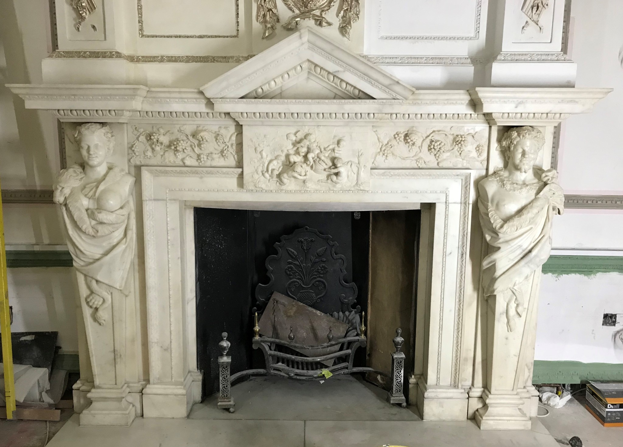 William Kent Chimney Piece Restoration