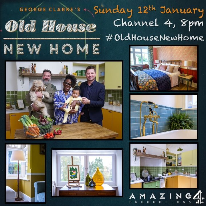 'George Clarke's Old House, New Home'